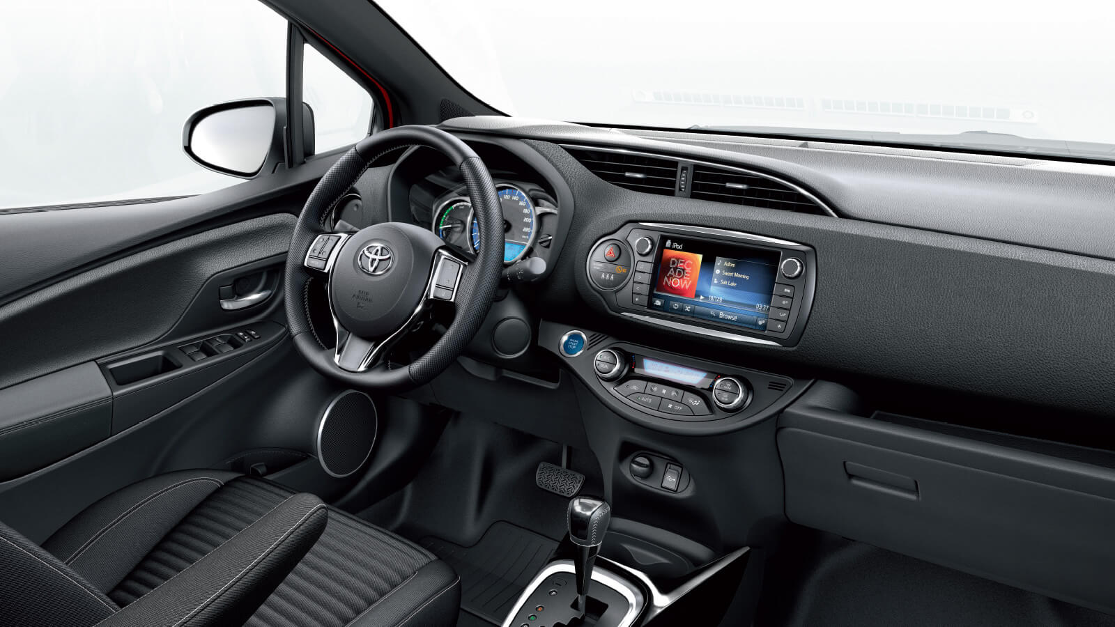 Interior yaris active 2015 2017 2018 best cars reviews for Interieur yaris 2015